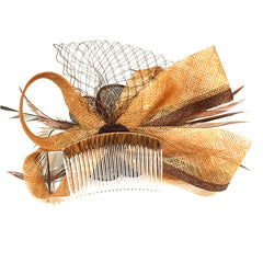 Multi-Layered Bow Fascinator Clip