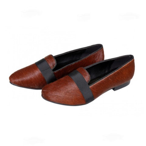 Pony Hair Cummerbund - Designer Shoes