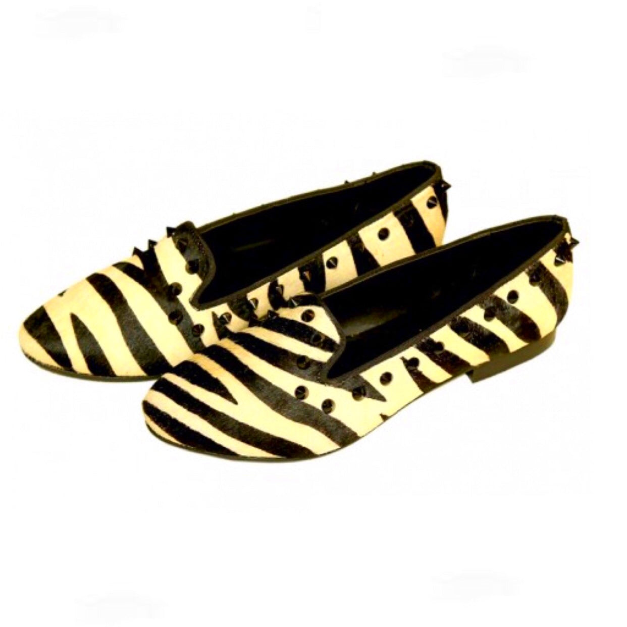 Zebra Arrowhead- Designer Shoes
