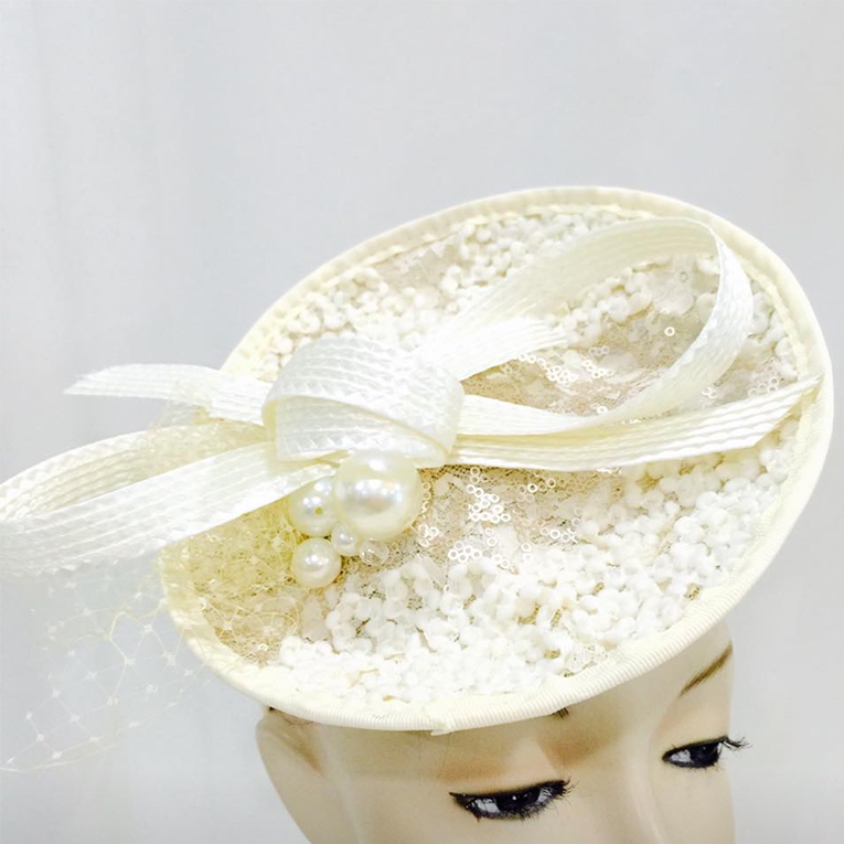 Pearl Disc Fascinator