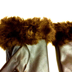 Jessie Faux Fur Gloves