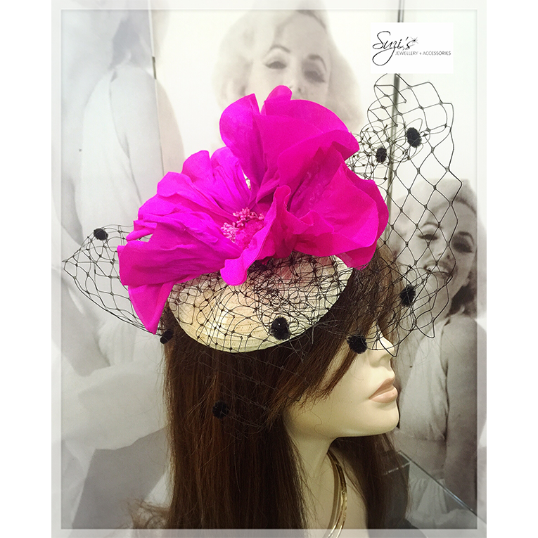 Pillbox Cherry Blossom Fascinator