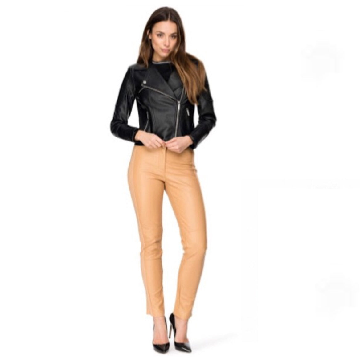 Luxe Fitted PU Pant