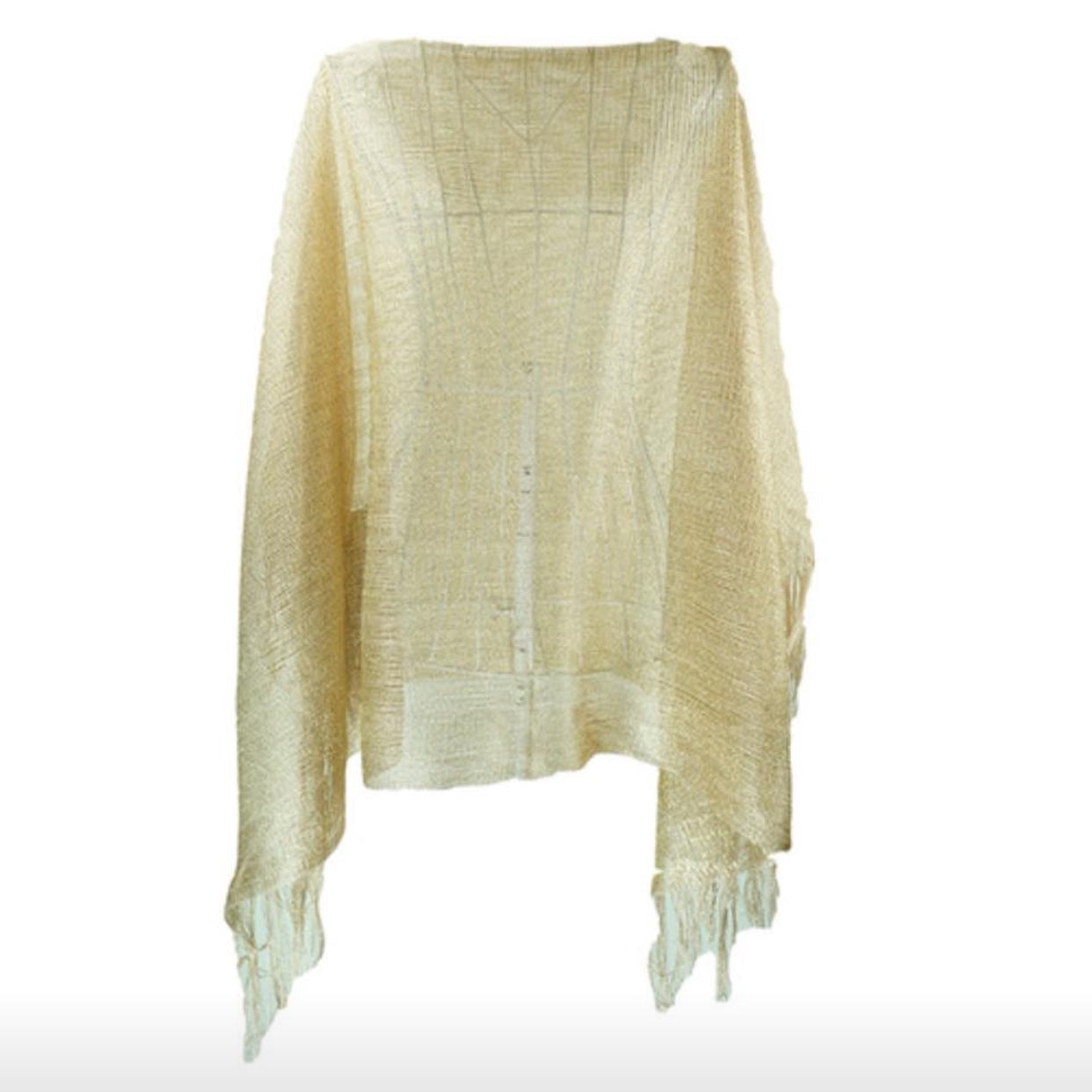 Ladies Sheer Kaftan Top