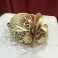 Elegant Large Rose Fascinator