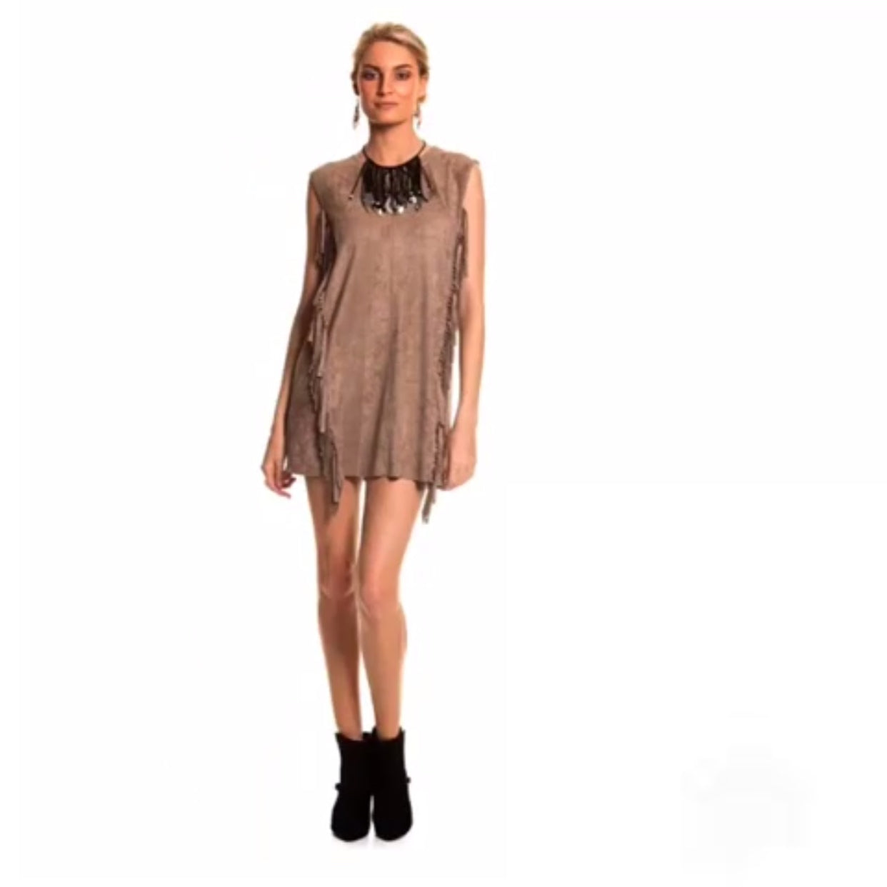 Hunter Fringe Dress