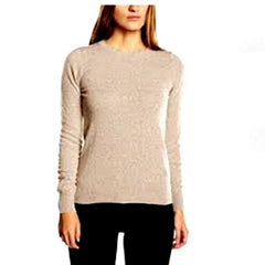 Ladies Round Crew-Neck Jumper