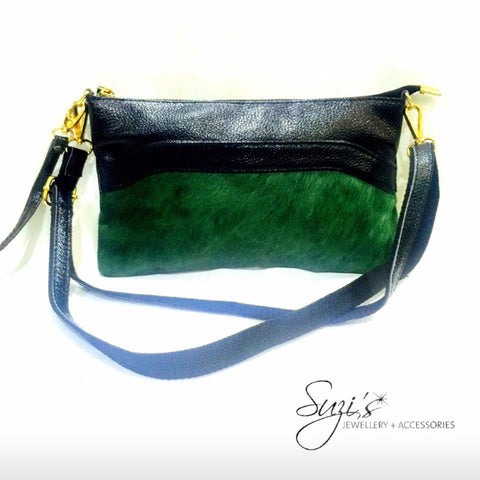 Emerald Clutch Bag