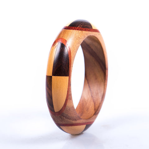 Wooden Brass Bangle