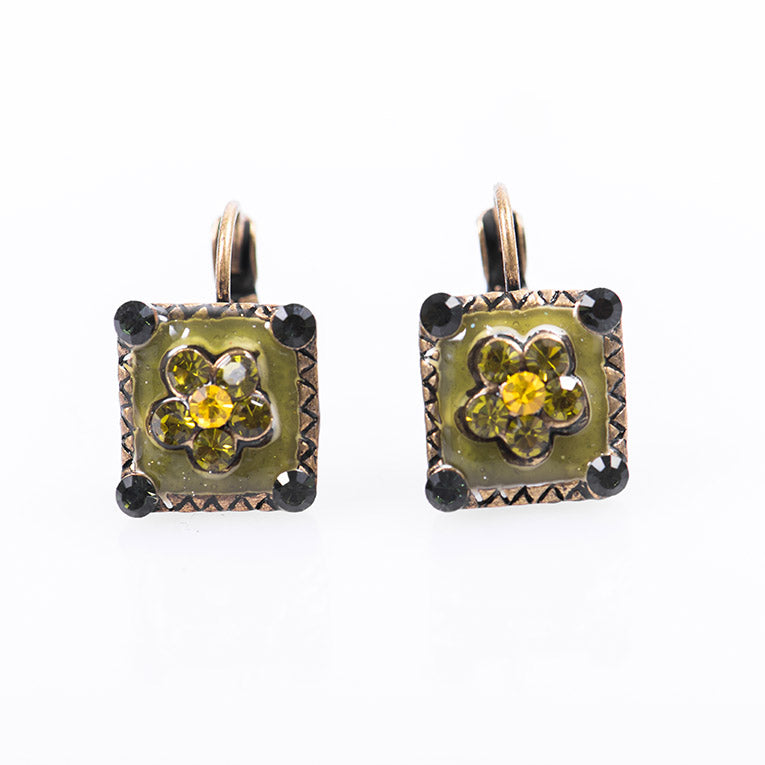 Jewel Flower Earrings