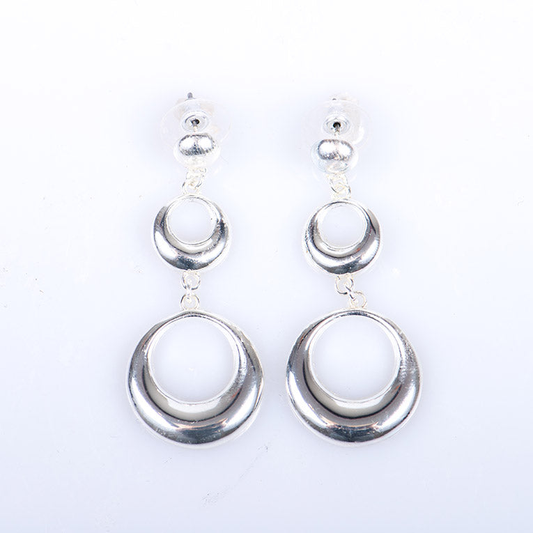 Double Link Drop Earrings