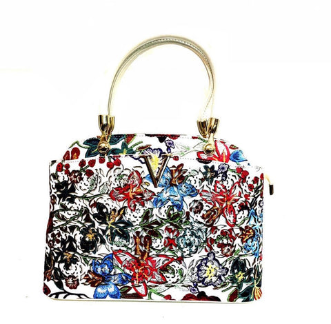 LV Patterned Handbag - Designer Inspired
