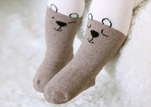 Cat and Bear Stockings