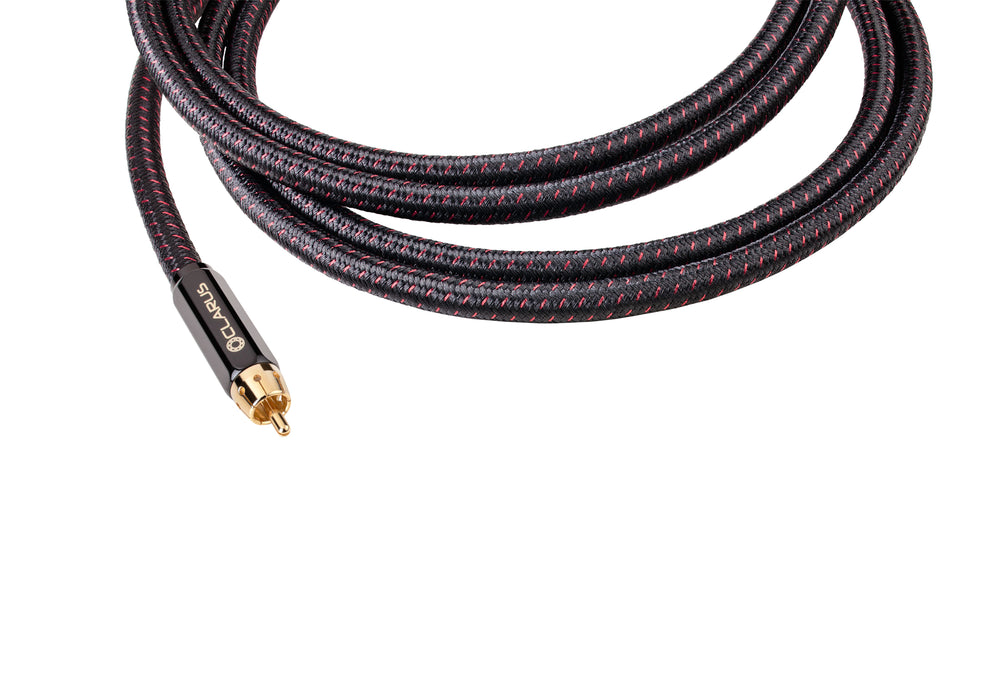 Clarus Crimson Subwoofer Cable