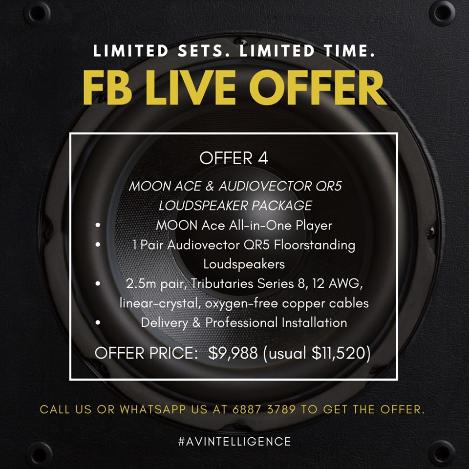 Offer 4: Moon Ace & Audiovector QR5 Package