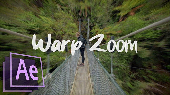 Warp Zoom Transition After Effects