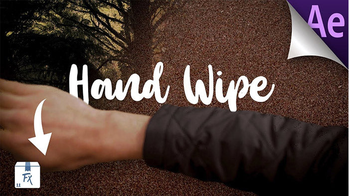 How to Film and Edit Hand Wipe Transition After Effects