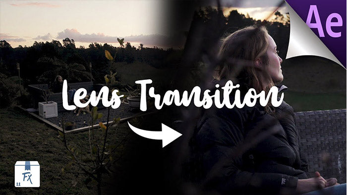 How to Create Lens Transition After Effects