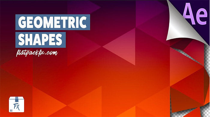 How to Create Animated Geometric Shapes After Effects