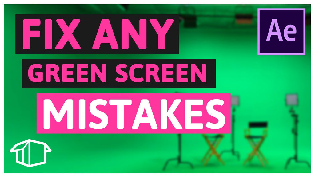 5 Common mistakes made with Green Screen Part 1 After Effects CC
