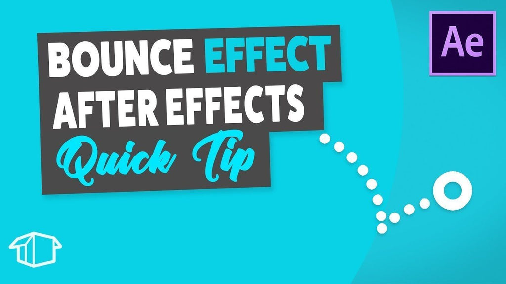 Bounce effect - After Effects Tutorial Quick Tip