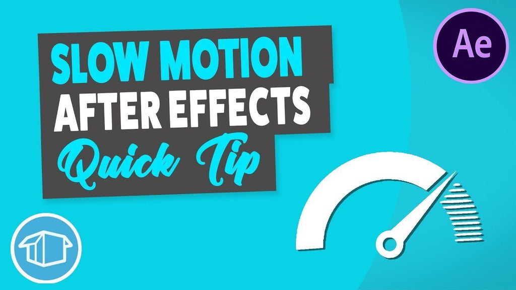 Smooth Slow Motion Video - After Effects Tutorial Quick Tip