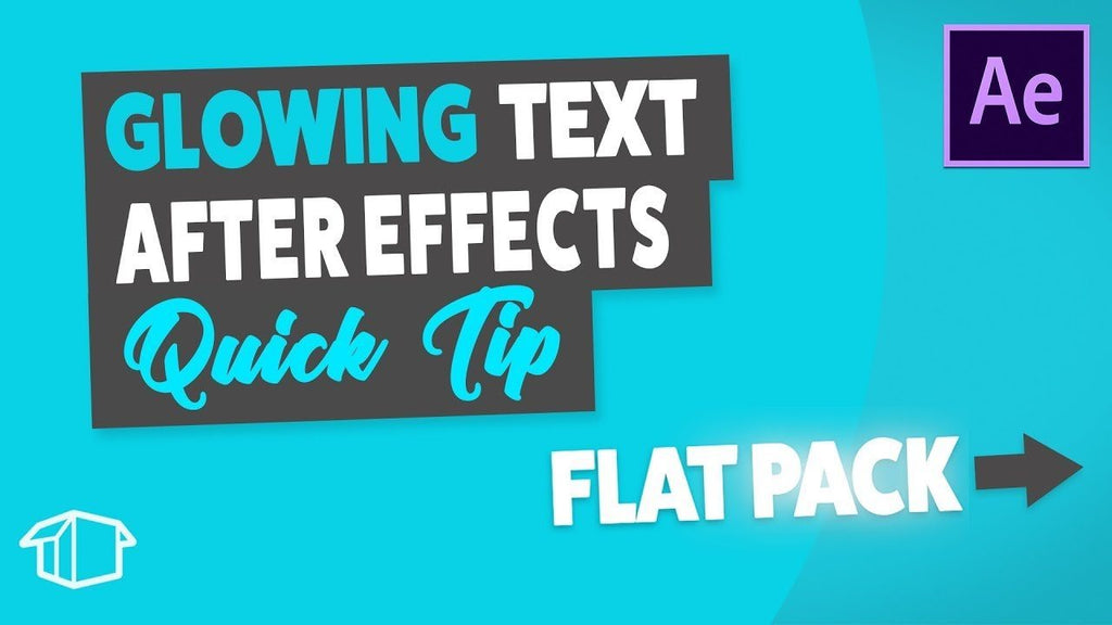 Highlight Text Wipe - After Effects Tutorial Quick Tip