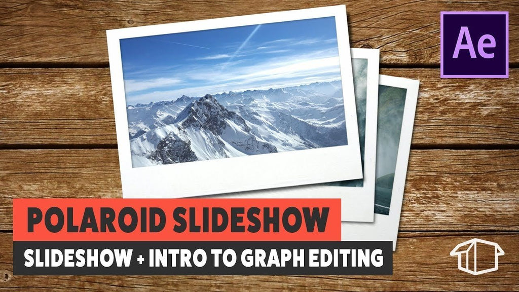 Polaroid Slideshow & Intro to Graph Editing - Tutorial Adobe After Effects CS6