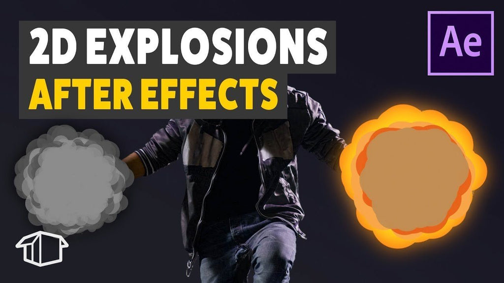 How to make 2D Explosions - After Effects Tutorial (No Plugins!)