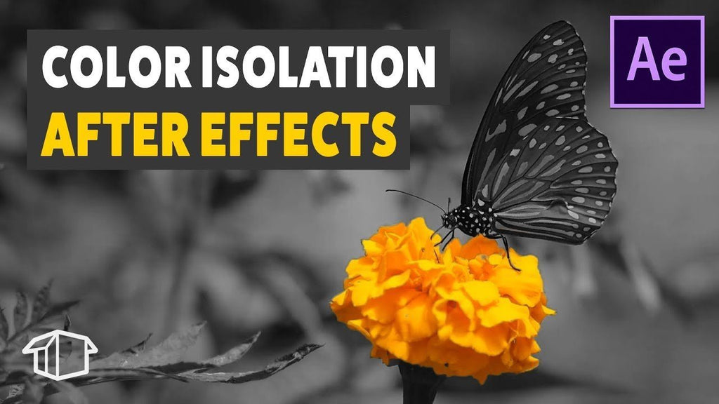 Color Isolation - Adobe After Effects tutorial