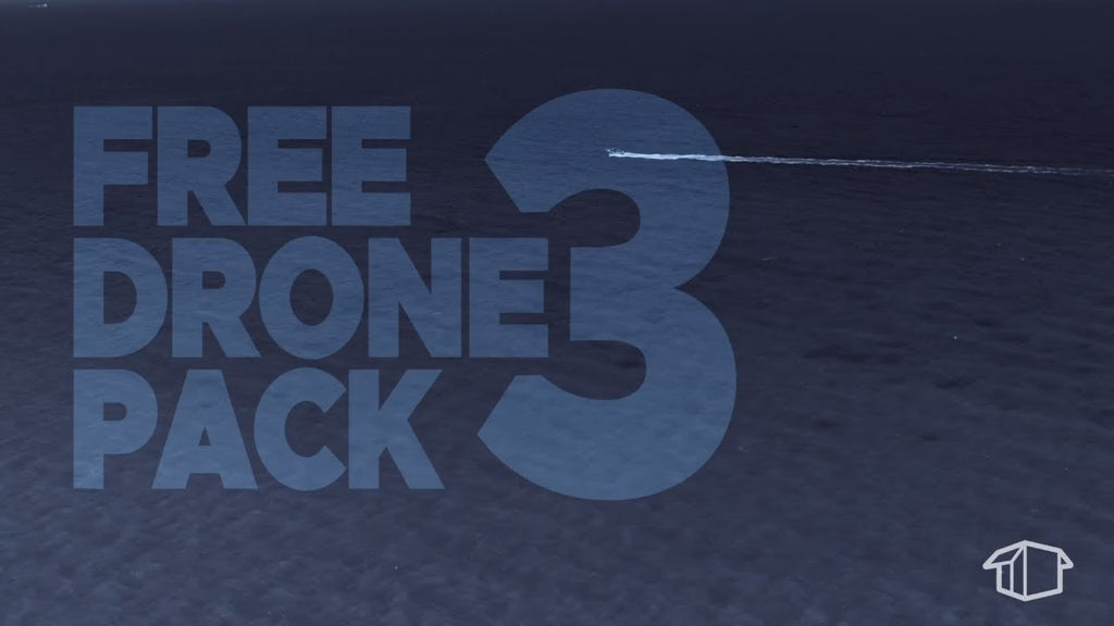 FREE Download Drone Pack 3 - Flat Pack FX
