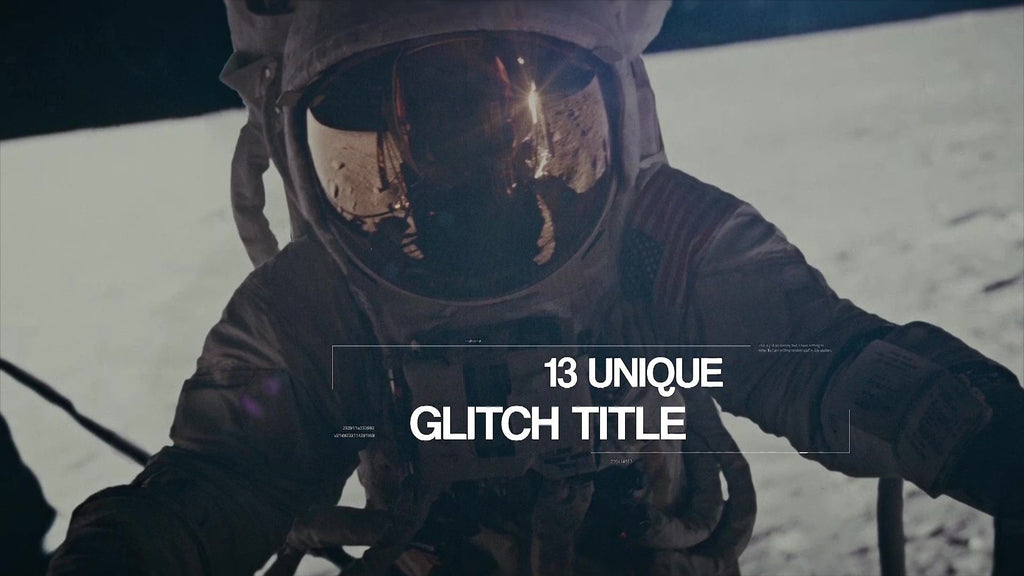 Glitch Titles for Premiere Pro