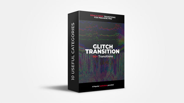 95+ Glitch Transitions - Premiere Pro