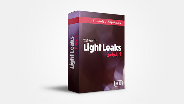 Light Leaks Bokeh Pack