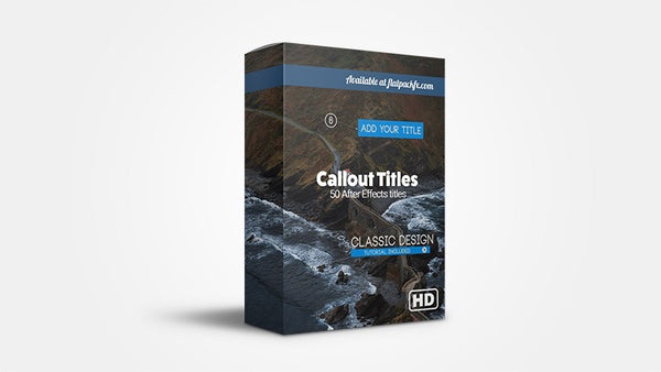 Callout Pack - After Effects