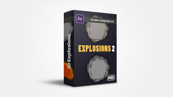 2D Explosion Pack - After Effects