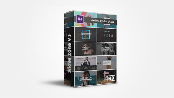 Slides Zone V1 - After Effects