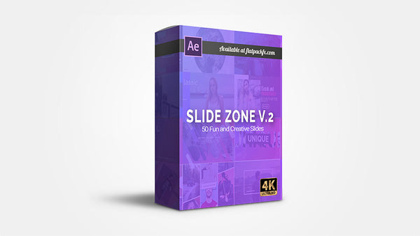 Slides Zone V2 - After Effects