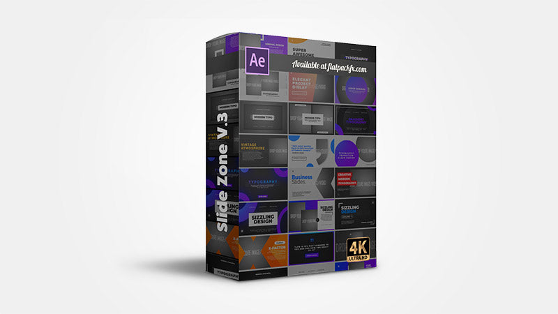 Slides Zone V3 - After Effects