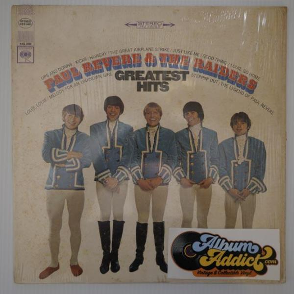 "Paul Revere & The Raiders: ""Greatest Hits"""
