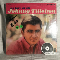 "Johnny Tillotson: ""No Love At All"""