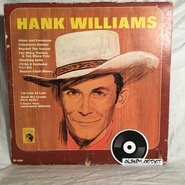 "Hank Williams And The Drifting Cowboys: ""Hank Williams"""