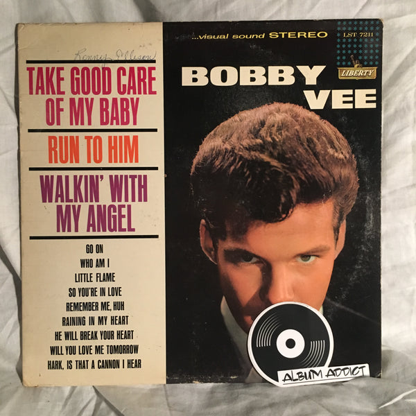 "Bobby Vee: ""Take Good Care Of My Baby"""