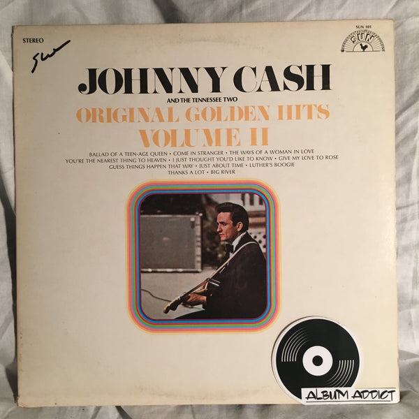 "Johnny Cash And The Tennessee Two: ""Original Golden Hits Volume II"""