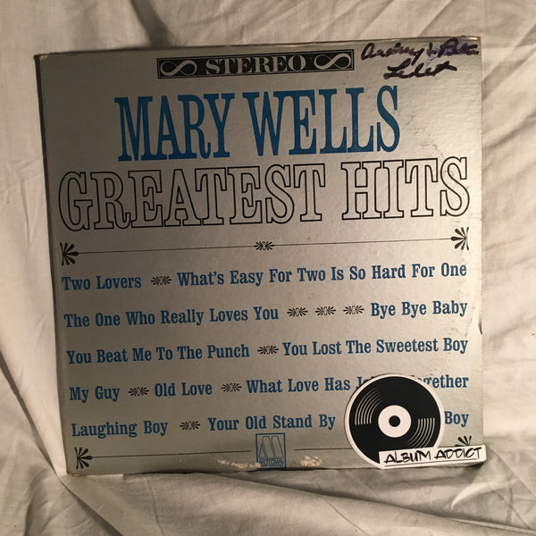"Mary Wells: ""Greatest Hits"""