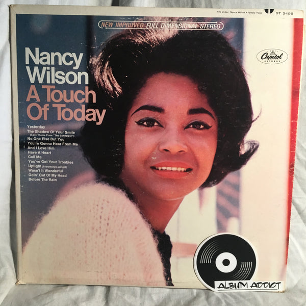 "Nancy Wilson: ""A Touch Of Today"""
