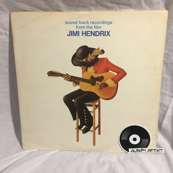"Jimi Hendrix: ""Sound Track Recordings From The Film ""Jimi Hendrix"""""