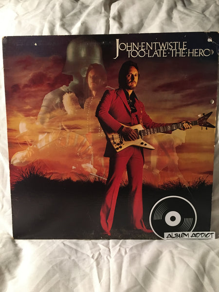 "John Entwistle: ""Too Late The Hero"""