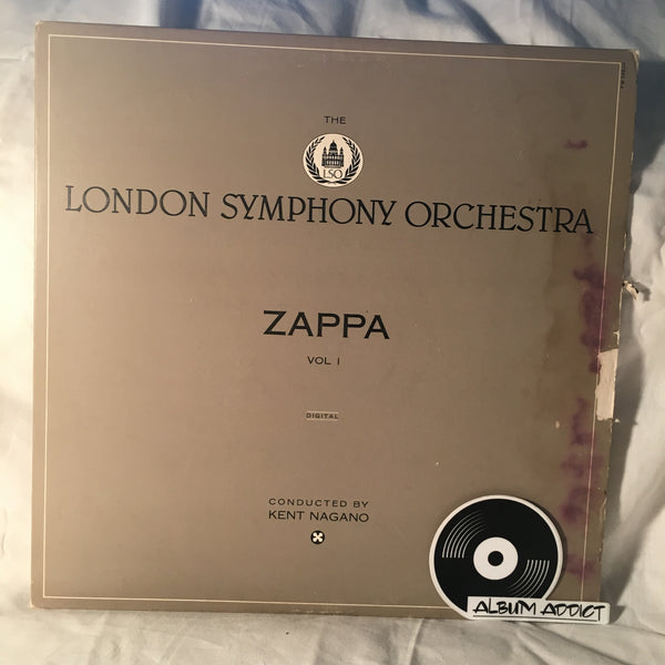 "Frank Zappa / The London Symphony Orchestra Conducted By Kent Nagano: ""The London Symphony Orchestra - Zappa Vol. 1"""