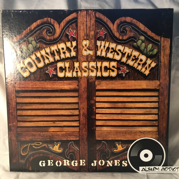 "George Jones: ""Country & Western Classics: George Jones"""